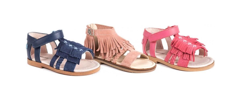 Sandalias para niñas. Tienda online de zapatos para niños