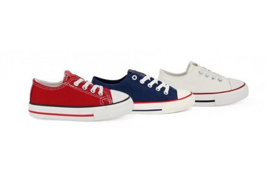 Zapatos de lona para niños