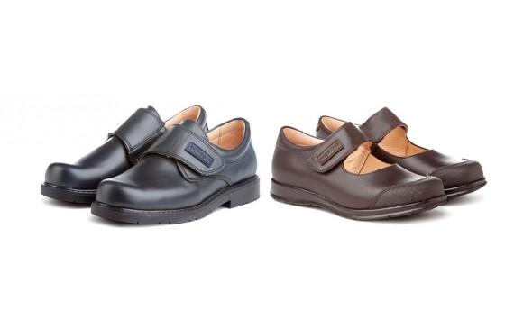 Zapatos colegiales para niño. Primeras marcas, precios imbatibles