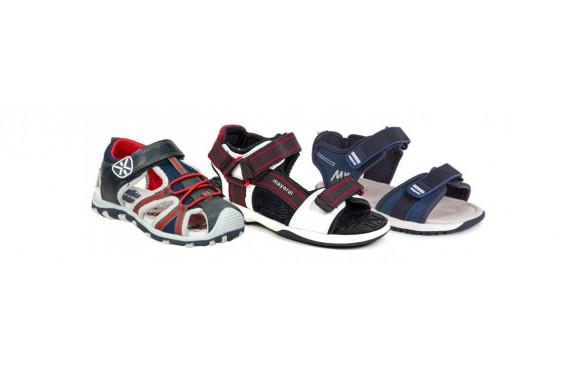 Zapatos tipo sandalia para niños