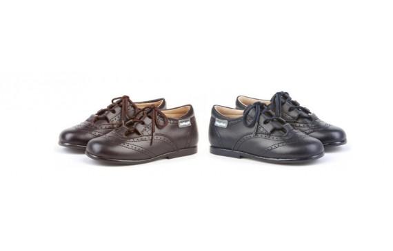 Zapato tipo inglesito bliucher para niños